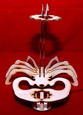 Lasercut24 Skorpion Glashalter