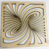 Lasercut24 - Wandbild Dekoration Tornado