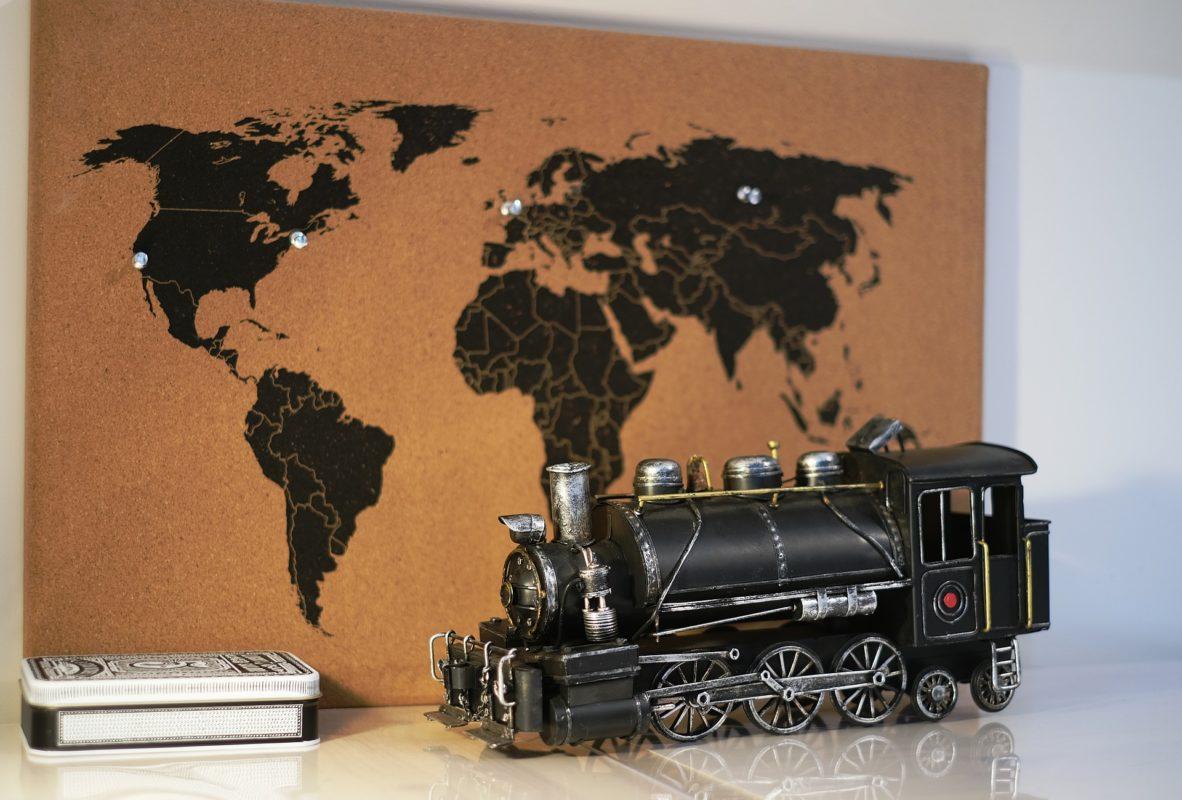 Weltkarte selbst machen
