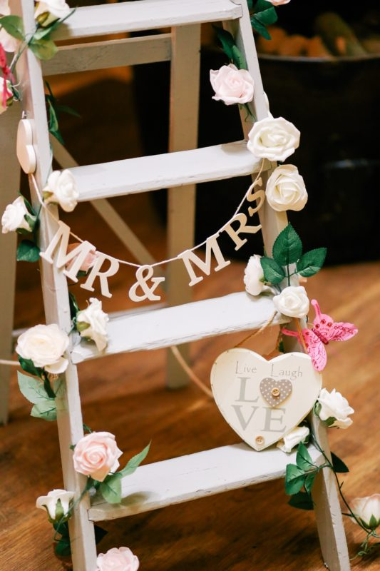 wedding decoration wood signage